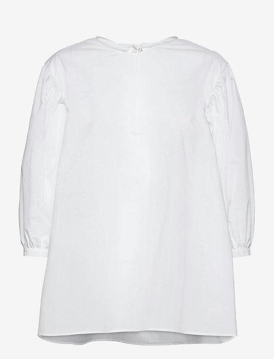 Inaia - langärmlige blusen - white