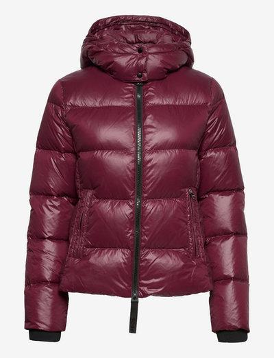 Pepule - vinterjackor - dark red