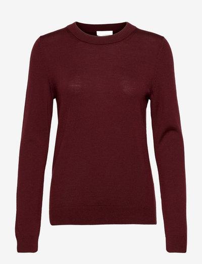 Fegana - trøjer - dark red