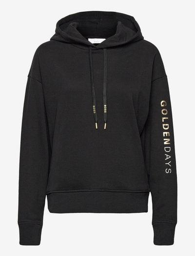 C_Eustice_Gold - hættetrøjer - black