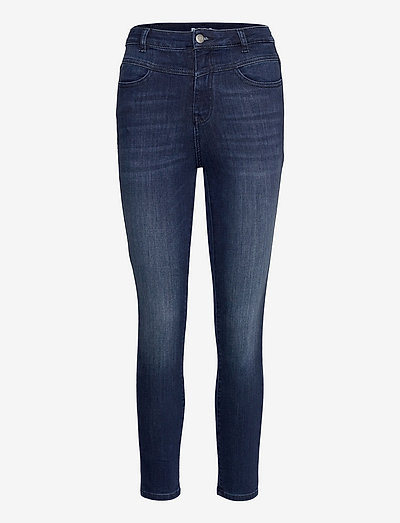 SKINNY CROP 1.2 - skinny jeans - navy