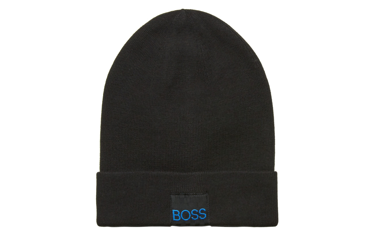 BOSS PULL ON HAT - BLACK