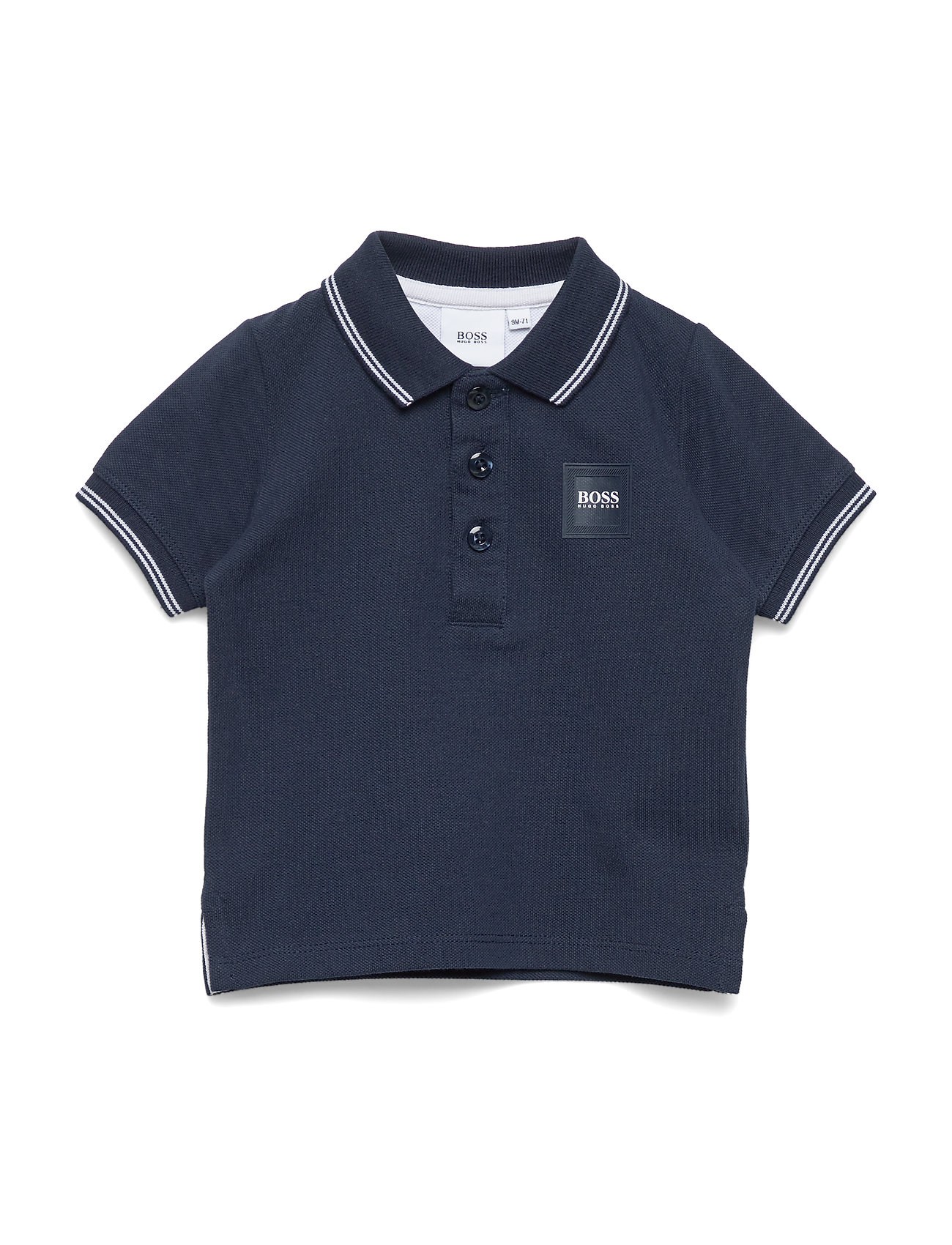 BOSS SHORT SLEEVE POLO - NAVY