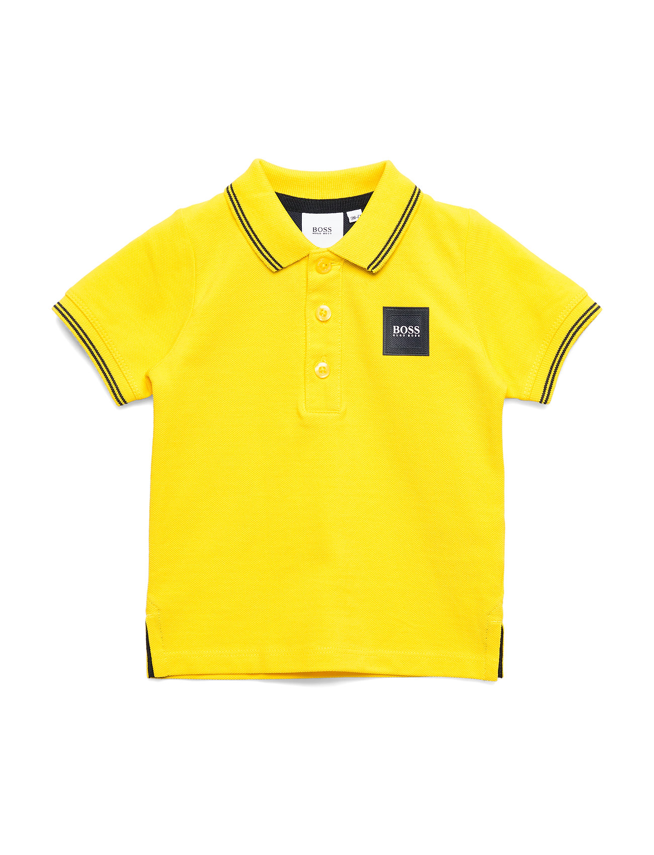 BOSS SHORT SLEEVE POLO - YELLOW