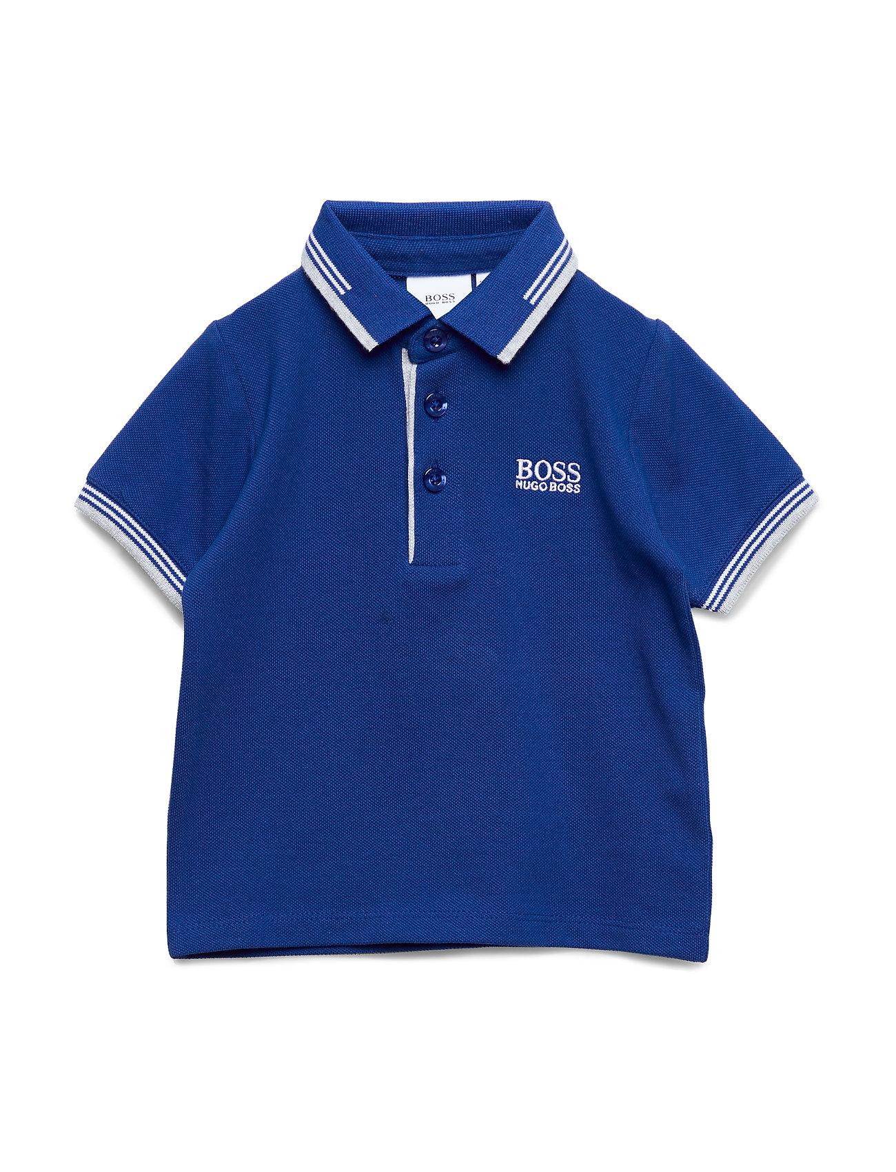 BOSS SHORT SLEEVE POLO - BLUE