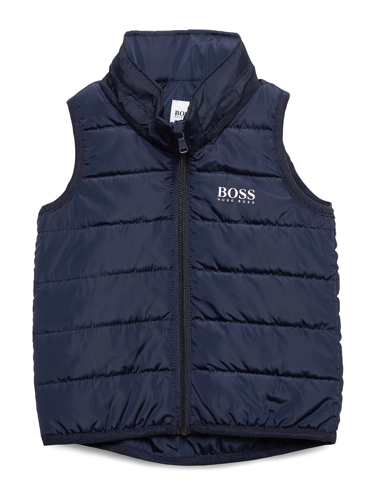 Image of Puffer Jacket Sleeveless Foret Vest Blå BOSS (3312099723)