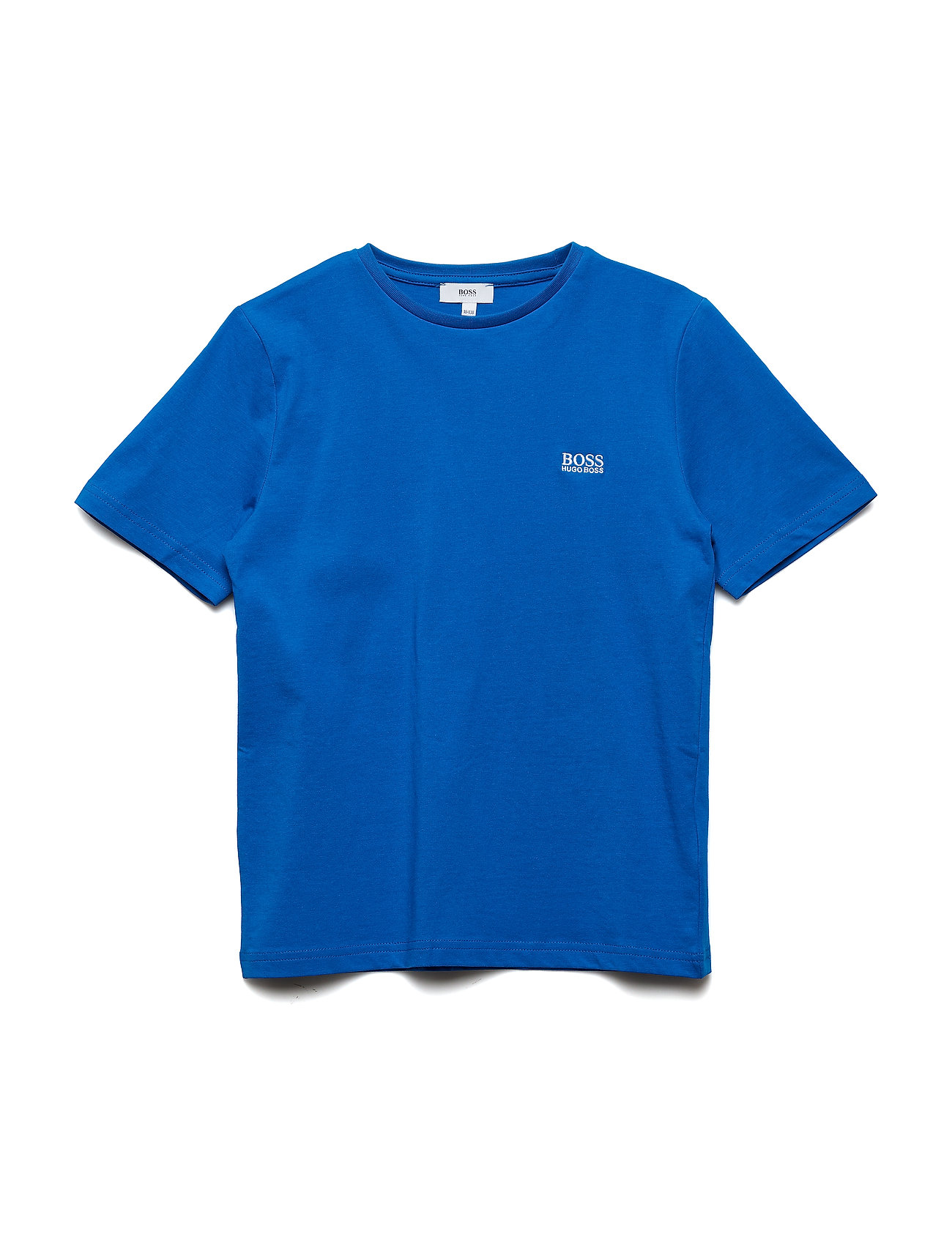 BOSS SHORT SLEEVES TEE-SHIRT - TURQUOISE