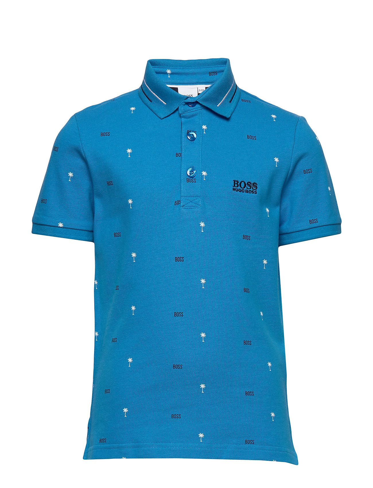 BOSS SHORT SLEEVE POLO - TURQUOISE
