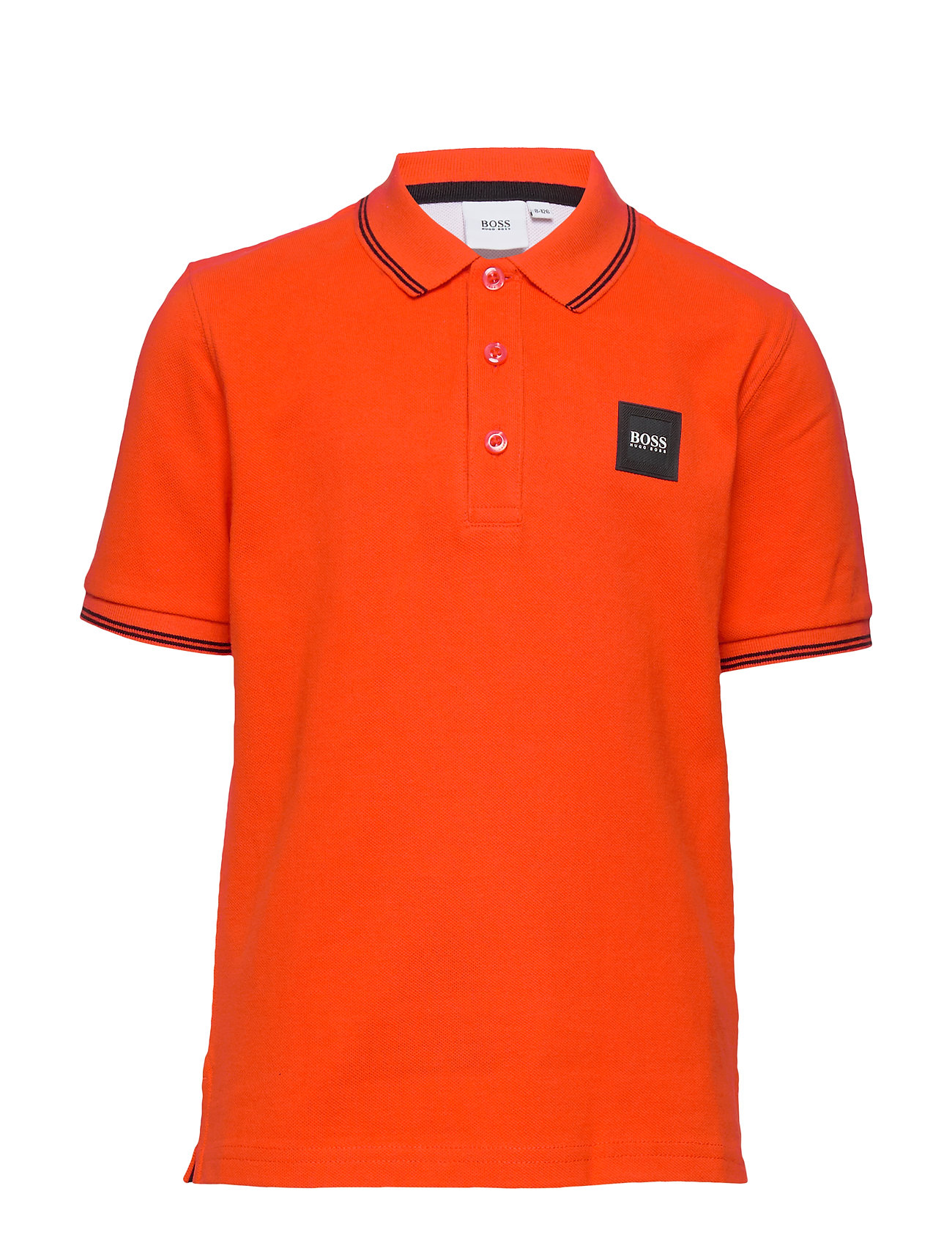 BOSS SHORT SLEEVE POLO - BRIGHT RED
