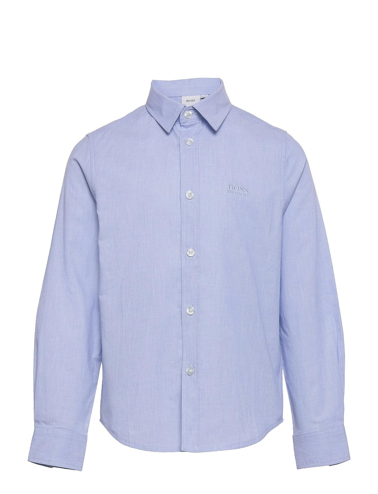 Shirt Skjorte Blå BOSS