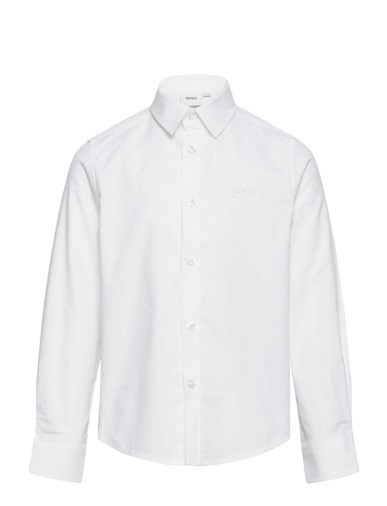 Shirt Skjorte Hvid BOSS