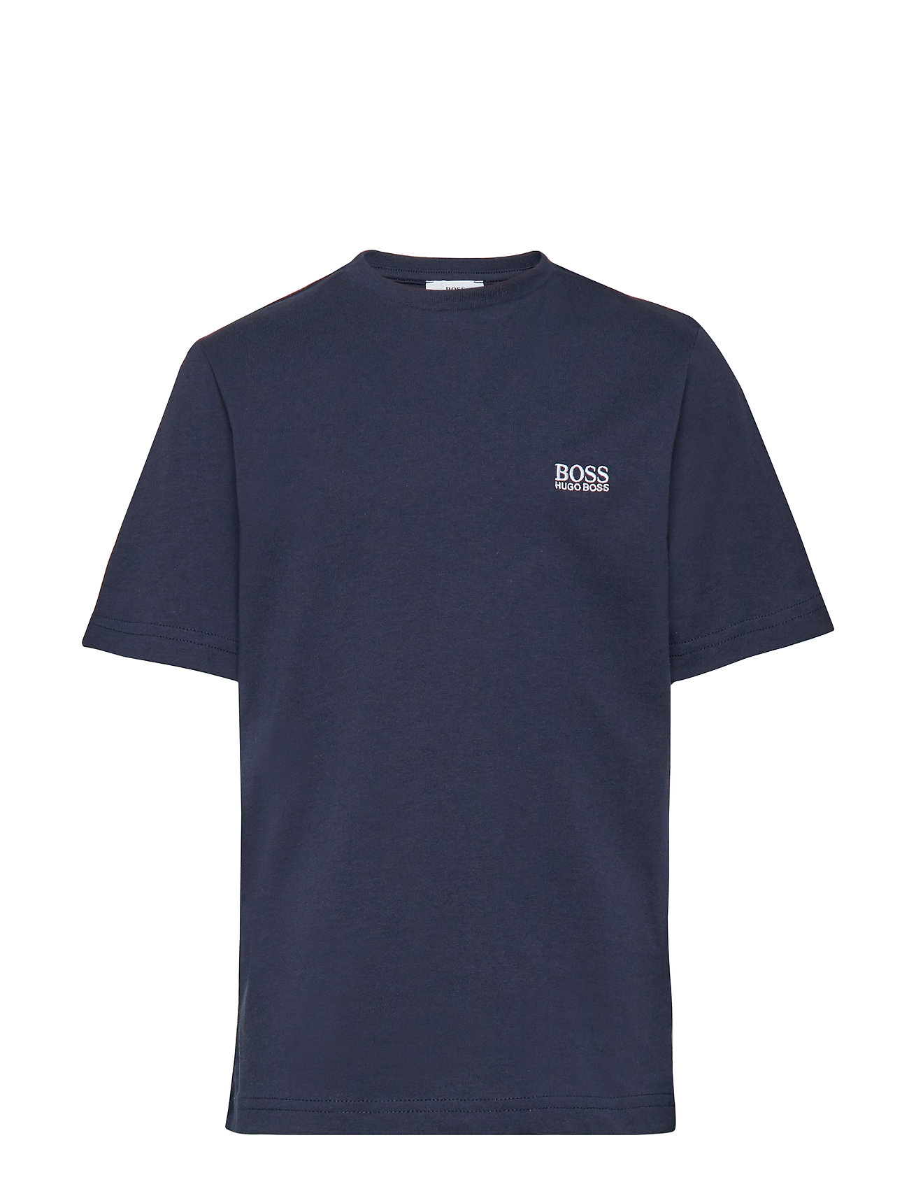 BOSS SHORT SLEEVES TEE-SHIRT - NAVY