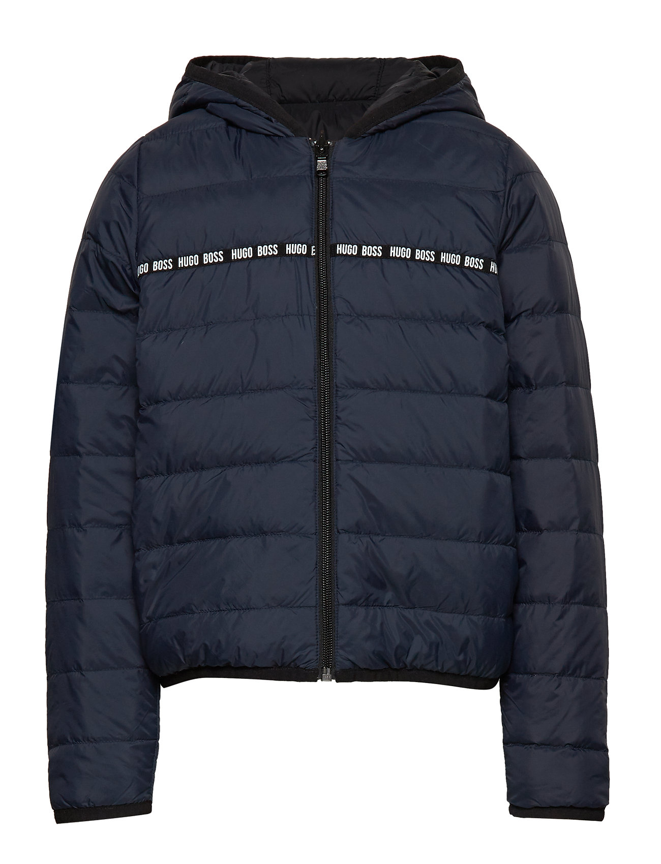 BOSS PUFFER JACKET - BLUE NAVY/BLACK