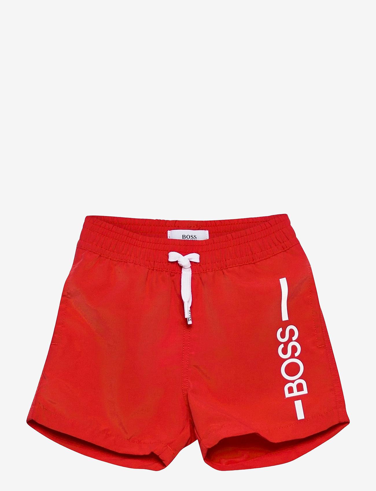 BOSS - SWIM SHORTS - badehosen - bright red - 0