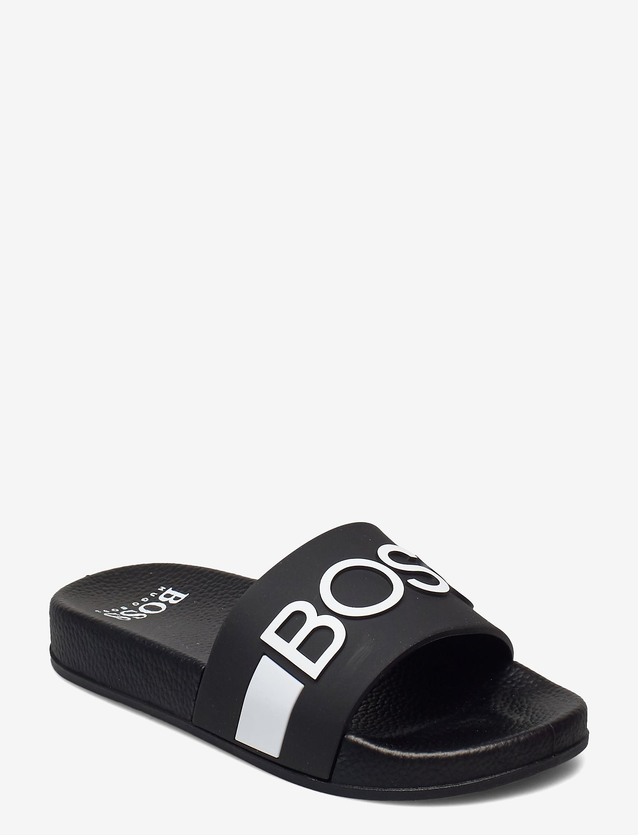 BOSS - SANDALS - hausschuhe - black - 0