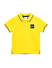 SHORT SLEEVE POLO - YELLOW