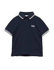 SHORT SLEEVE POLO - NAVY