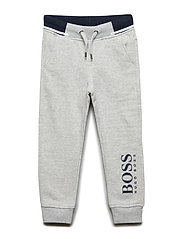 JOGGING BOTTOMS - LIGHT GREY MARL