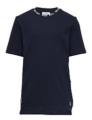 SHORT SLEEVES TEE-SHIRT - NAVY