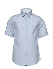 SHORT SLEEVE SHIRT - PALE BLUE