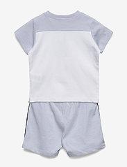 BOSS - T-SHIRT+SHORTS - short-sleeved - pale blue - 1