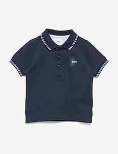 SHORT SLEEVE POLO - polo shirts - navy