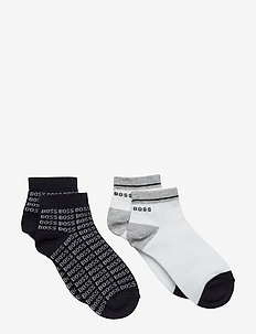 ANKLE SOCKS (2) - skarpetki - navy  white
