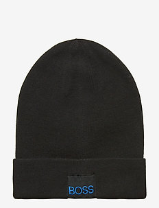 PULL ON HAT - BLACK
