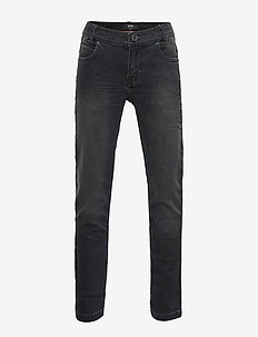 DENIM TROUSERS - DENIM BLACK