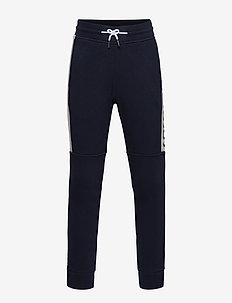 JOGGING BOTTOMS - NAVY  GREY
