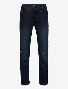 DENIM TROUSERS - jeans - stone pulverisation