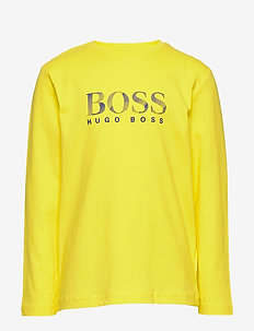 LONG SLEEVE T-SHIRT - YELLOW