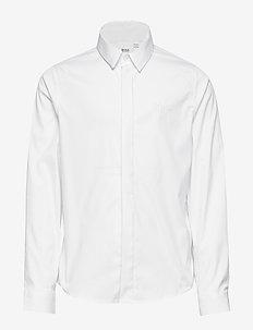 LONG SLEEVED SHIRT - koszule - white