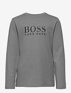 LONG SLEEVE T-SHIRT - long-sleeved t-shirts - medium grey