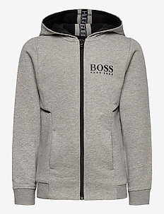 CARDIGAN SUIT - hoodies - grey marl