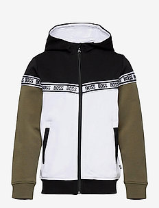 CARDIGAN SUIT - sweatshirts - black  white