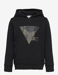 SWEATSHIRT - hoodies - black