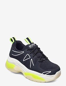 TRAINERS - laag sneakers - navy