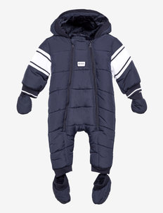 ALL IN ONE - snowsuit - navy