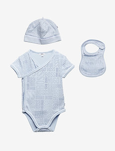 BODY+BIB+PULL ON HAT - PALE BLUE
