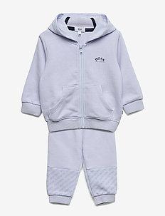 TRACK SUIT - hoodies - pale blue