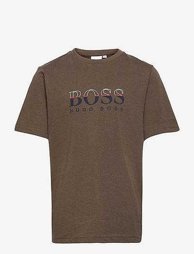SHORT SLEEVES TEE-SHIRT - short-sleeved t-shirts - khaki