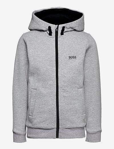 CARDIGAN SUIT - hoodies - chine grey
