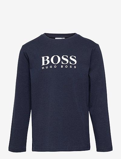 LONG SLEEVE T-SHIRT - t-shirts - navy