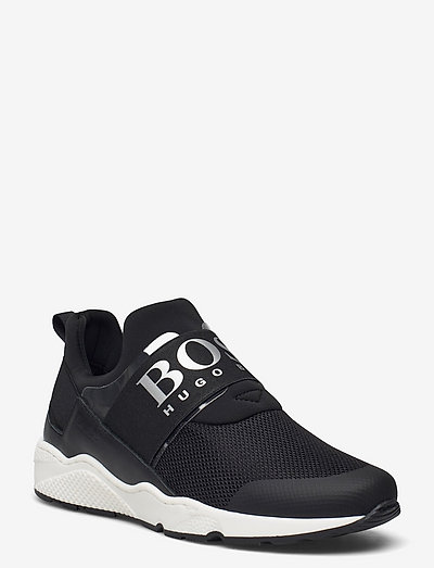 TRAINERS - low tops - black