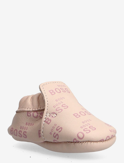 SLIPPERS - baby booties - pink  pale