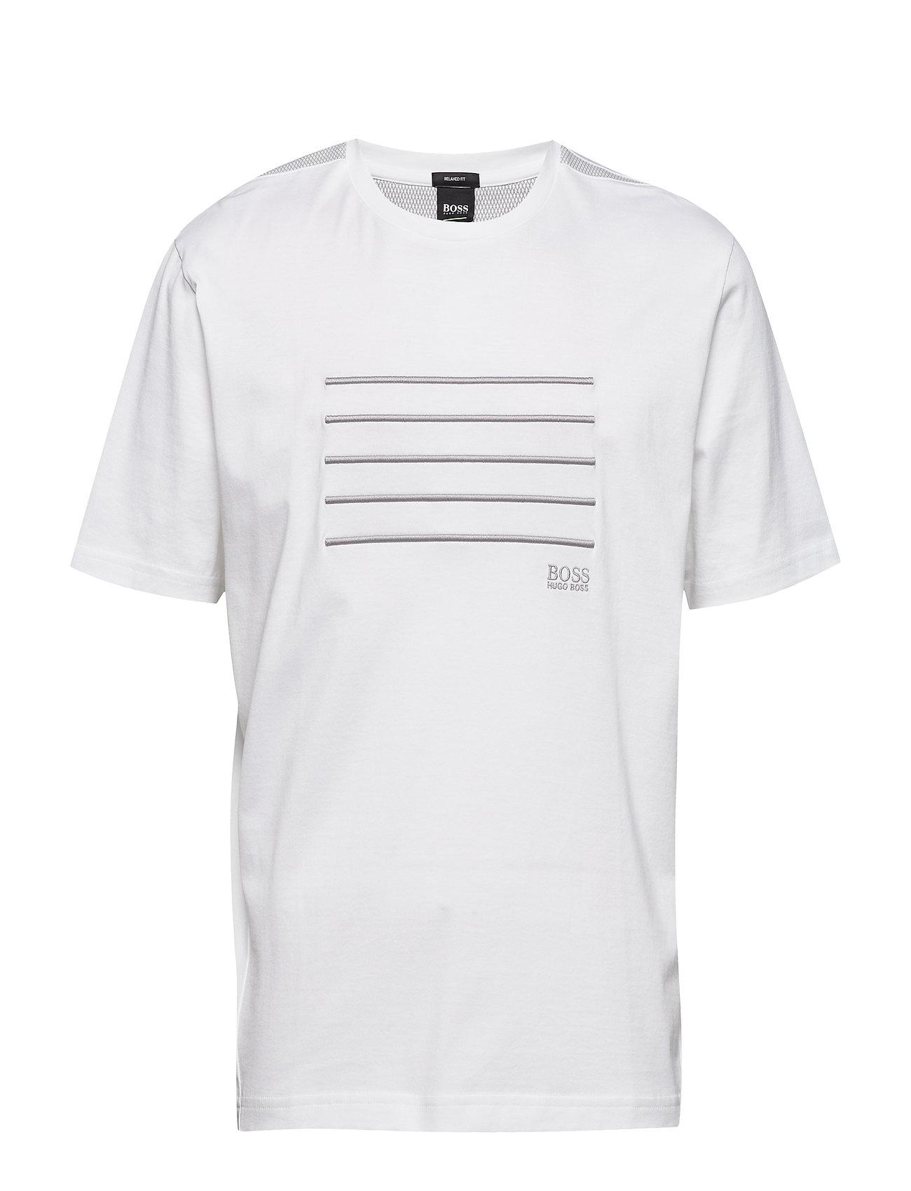 Boss Athleisure Wear Tee 8 - WHITE
