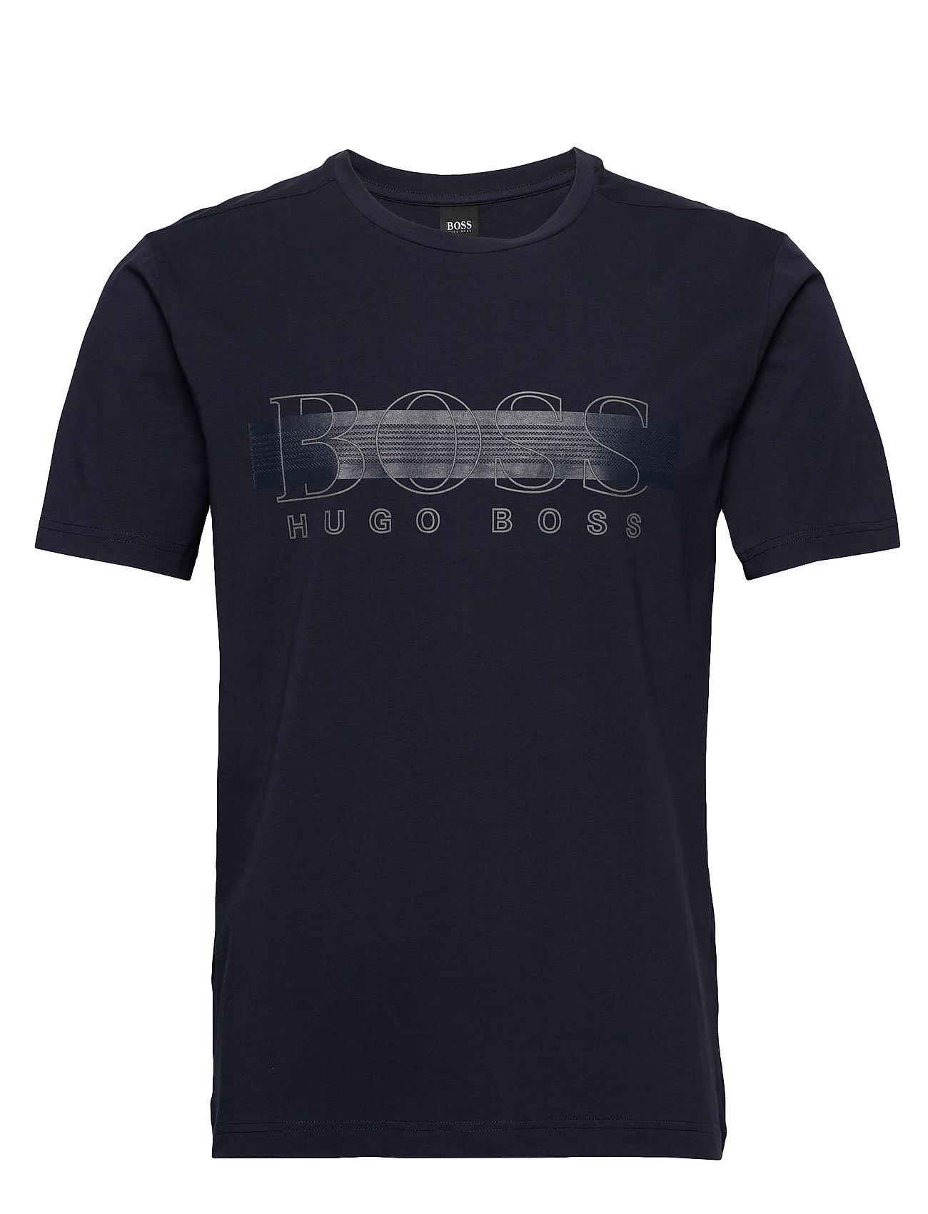 Image of Tee Tr 1 T-shirt Blå BOSS (3408902419)