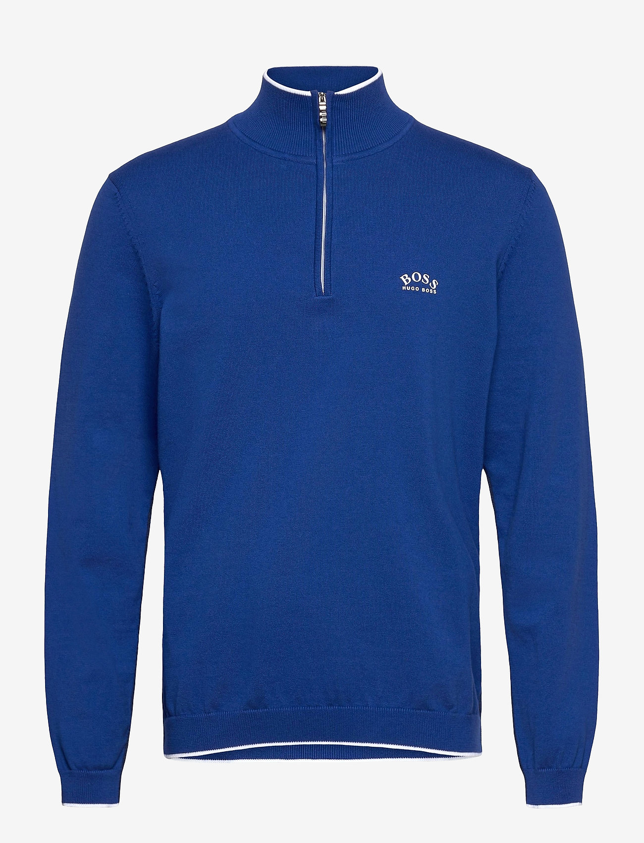 BOSS - Ziston_S21 - half zip - bright blue - 0