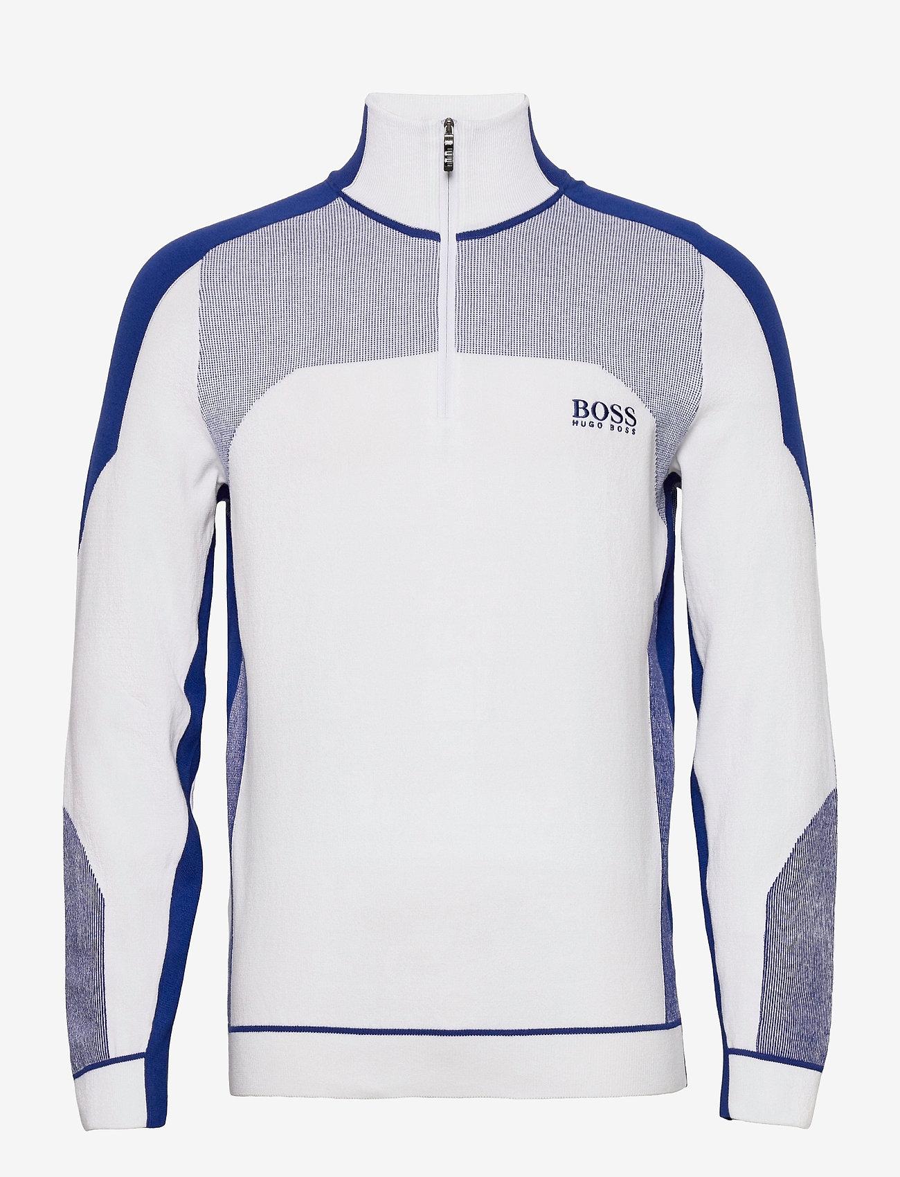 BOSS - Zordi - half zip - white - 0
